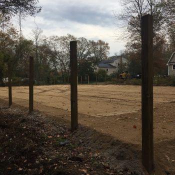 Equestrian arena still under construction